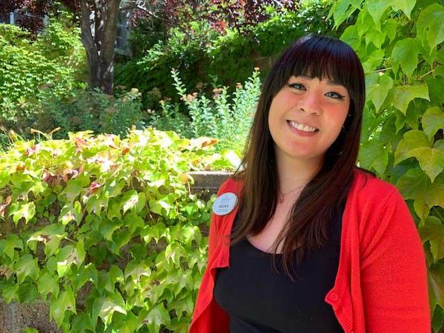 Nicole, staff member at Arbol Residences of Santa Rosa