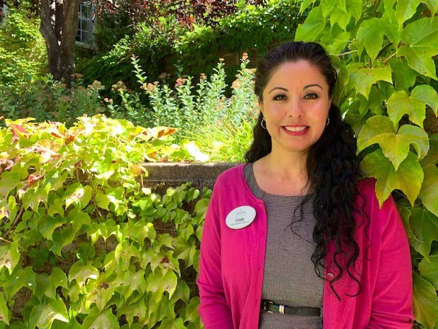 Cynthia, employee at Arbol Residences of Santa Rosa