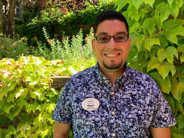 Miguel, staff member at Arbol Residences of Santa Rosa