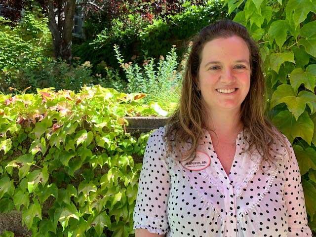 Jennifer, an RN at Arbol Residences of Santa Rosa