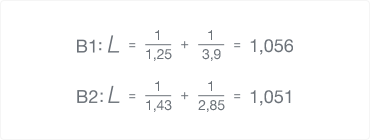 Formula surebets