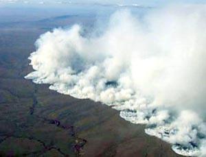 Tundra fire