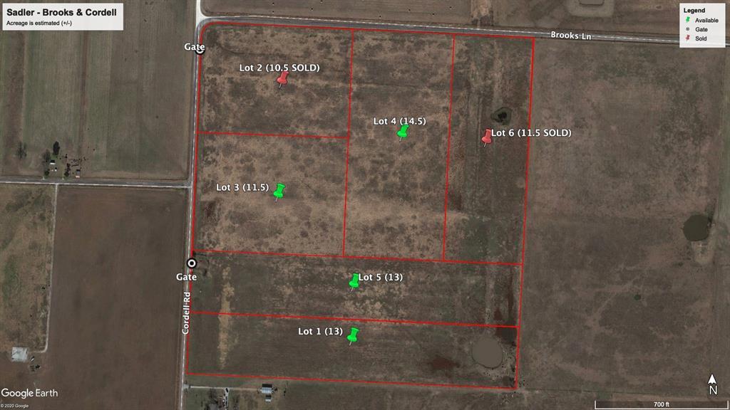Lot 4 BROOKS Lane, Sadler, Texas 76264 - Acquisto Real Estate best mckinney realtor hannah ewing stonebridge ranch expert