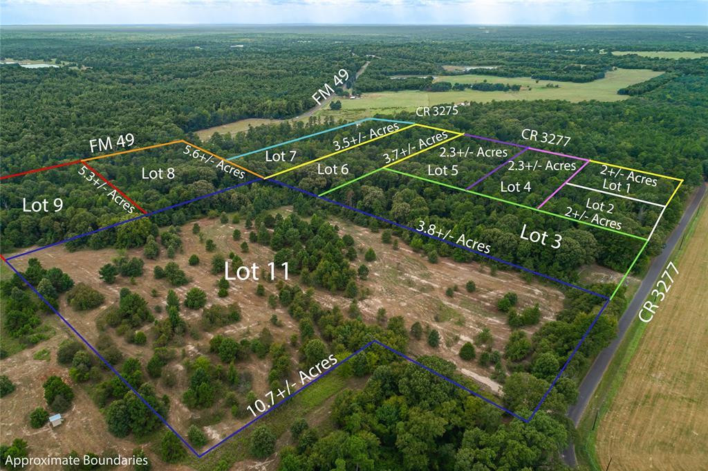 Lot 6 County Road 3277  Mineola, Texas 75773 - acquisto real estate best prosper realtor susan cancemi windfarms realtor