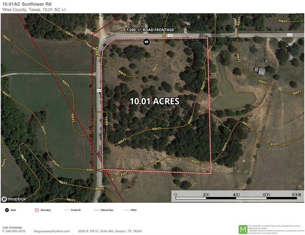 10 Ac Sunflower Paradise, Texas 76073 - acquisto real estate best frisco real estate agent amy gasperini panther creek realtor