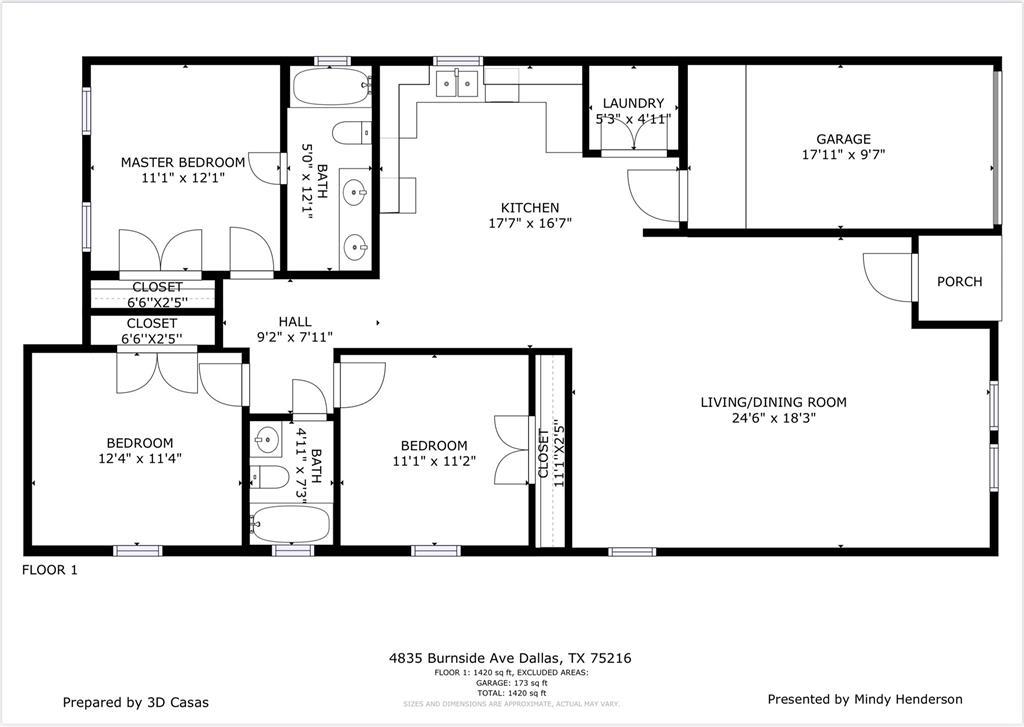 4835 Burnside Avenue, Dallas, Texas 75216 - acquisto real estate best realtor foreclosure real estate mike shepeherd walnut grove realtor