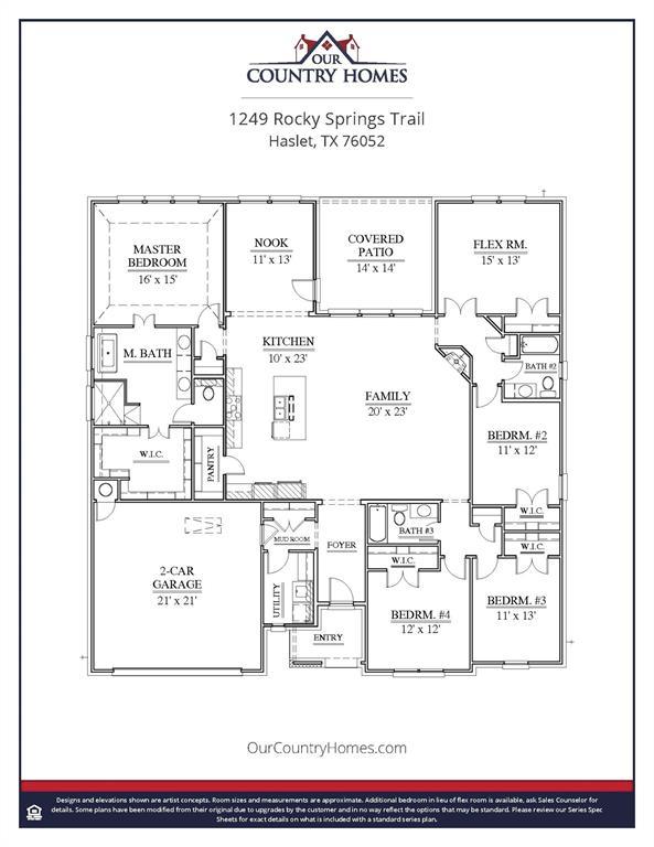 1249 Rocky Springs Trail, Fort Worth, Texas 76052 - Acquisto Real Estate best mckinney realtor hannah ewing stonebridge ranch expert
