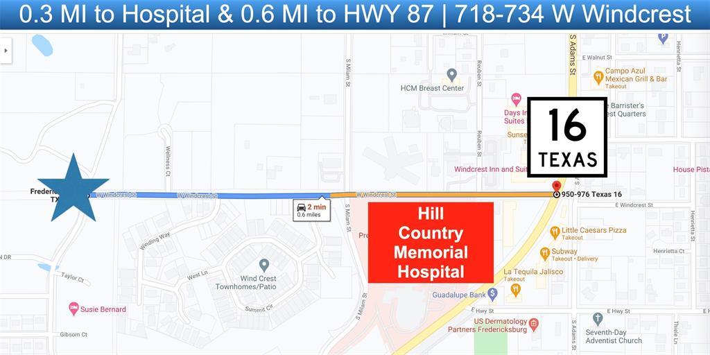 718 Windcrest  Street, Fredericksburg, Texas 78624 - acquisto real estate best park cities realtor kim miller best staging agent