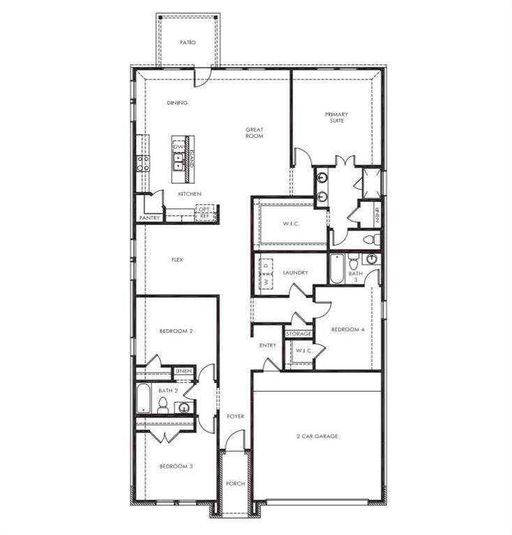 5573 Cypress Willow Bend, Fort Worth, Texas 76126 - Acquisto Real Estate best mckinney realtor hannah ewing stonebridge ranch expert