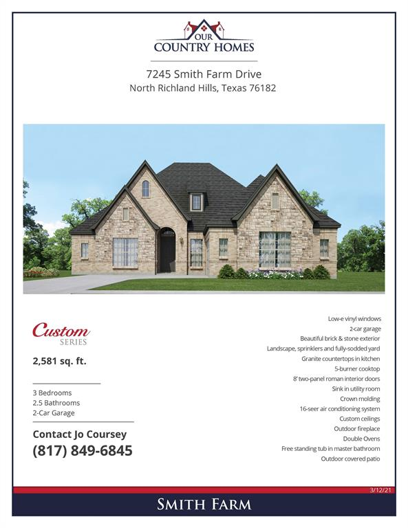 7245 Smith Farm Drive, North Richland Hills, Texas 76182 - Acquisto Real Estate best plano realtor mike Shepherd home owners association expert