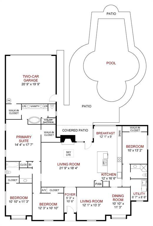 6807 Truxton  Drive, Dallas, Texas 75231 - acquisto real estate best negotiating realtor linda miller declutter realtor