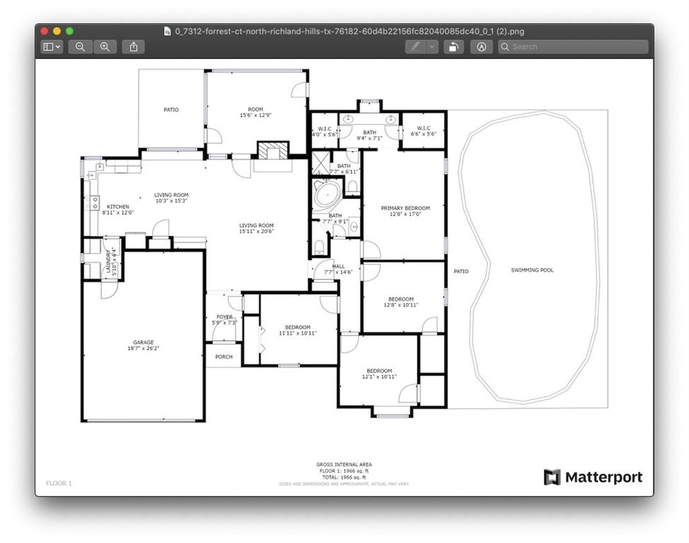 7312 Forrest  Court, North Richland Hills, Texas 76182 - acquisto real estate best park cities realtor kim miller best staging agent
