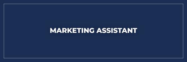 9bb7fea9 marketing assistant
