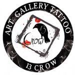 13 Crow Tattoo