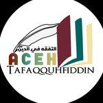 Aceh Tafaqquhfiddin