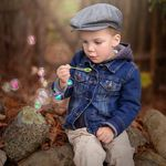 Artistic child photography