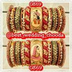rajwadi wedding chooda