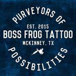 Boss Frog Tattoo