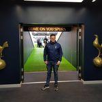 Tottenham Fan Chris Cowlin