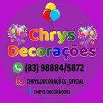 Chrys decorações