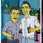 Cordoba y Los Simpsons