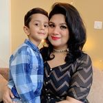 Jaivik & Mommy  Mandeep Saini