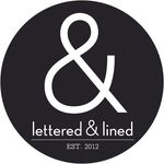 Lettered & Lined