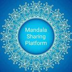 Mandala art featuring page
