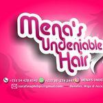 Mena's Undeniable hair