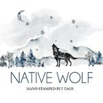 Native Wolf Tags