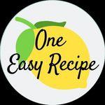 One Easy Recipe