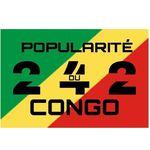 243 Popularité du Congo 242