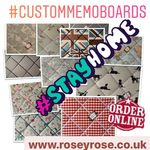 Rosey Rose Memo Boards Vintage