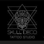 Skull Deco Tattoo