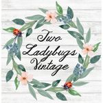 Two Ladybugs Vintage