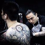 中国上海雕王纹身tattoo