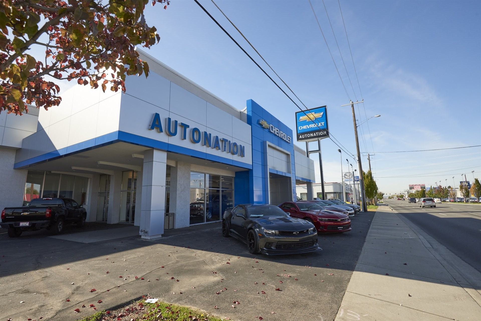 Autonation Chevrolet Spokane Valley Chevrolet Car Service Center In Spokane Washington