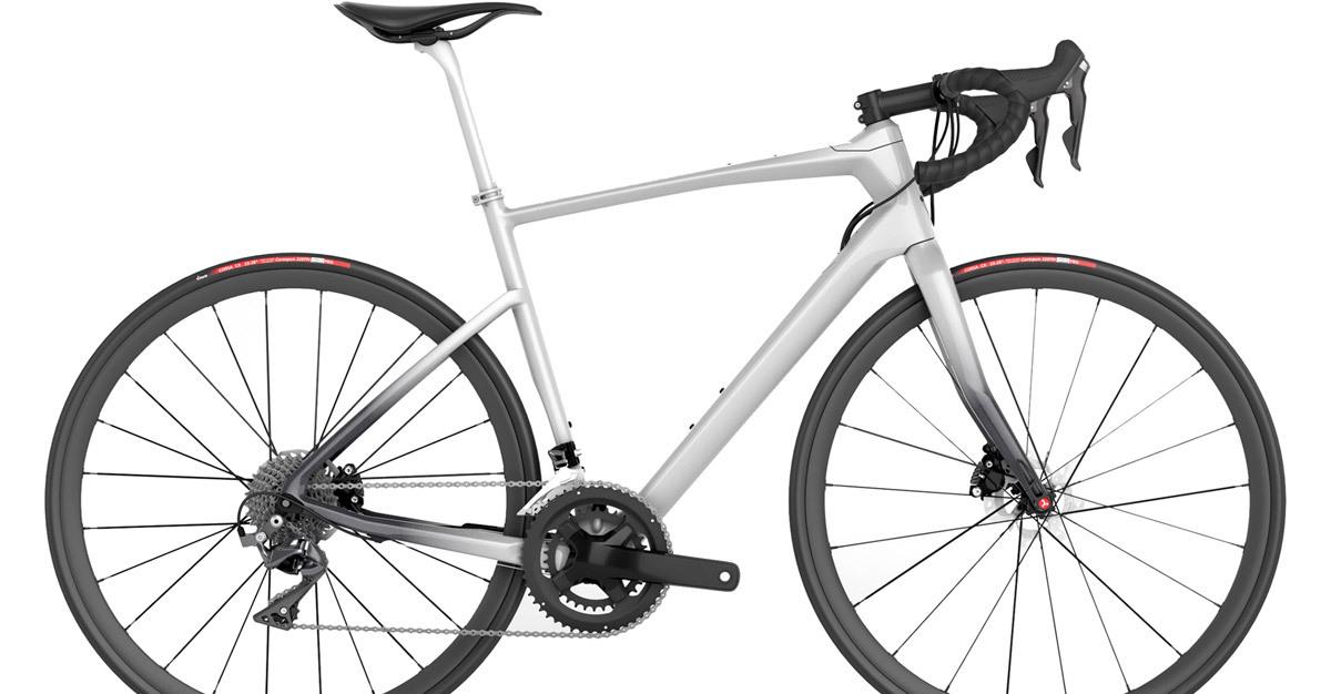 Mercedes-Benz Style Silver 47 | Endurance Road Bike | Argon 18