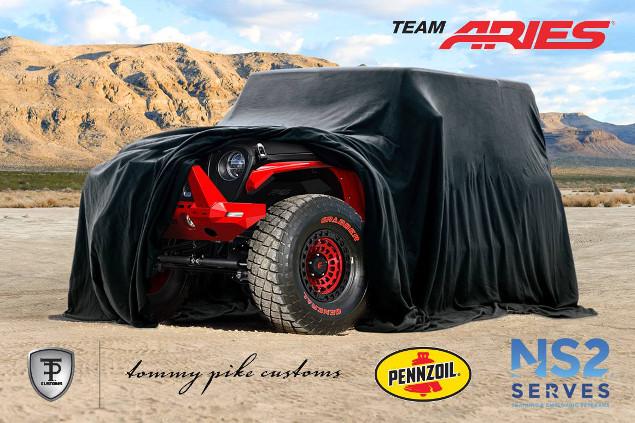 SEMA 2018 Tommy Pike Jeep JL reveal