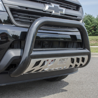 ARIES bull bar on black custom Chevrolet Colorado