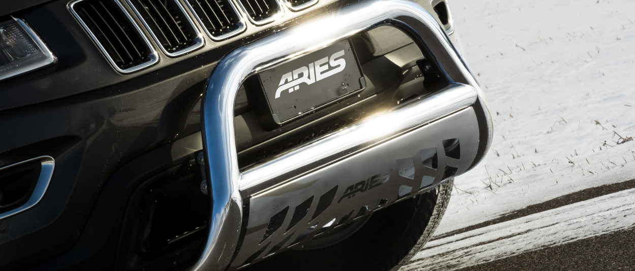 ARIES bull bar on Jeep Grand Cherokee