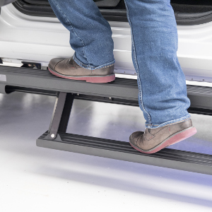 ARIES ActionTrac™ powered retractable running boards - two-step