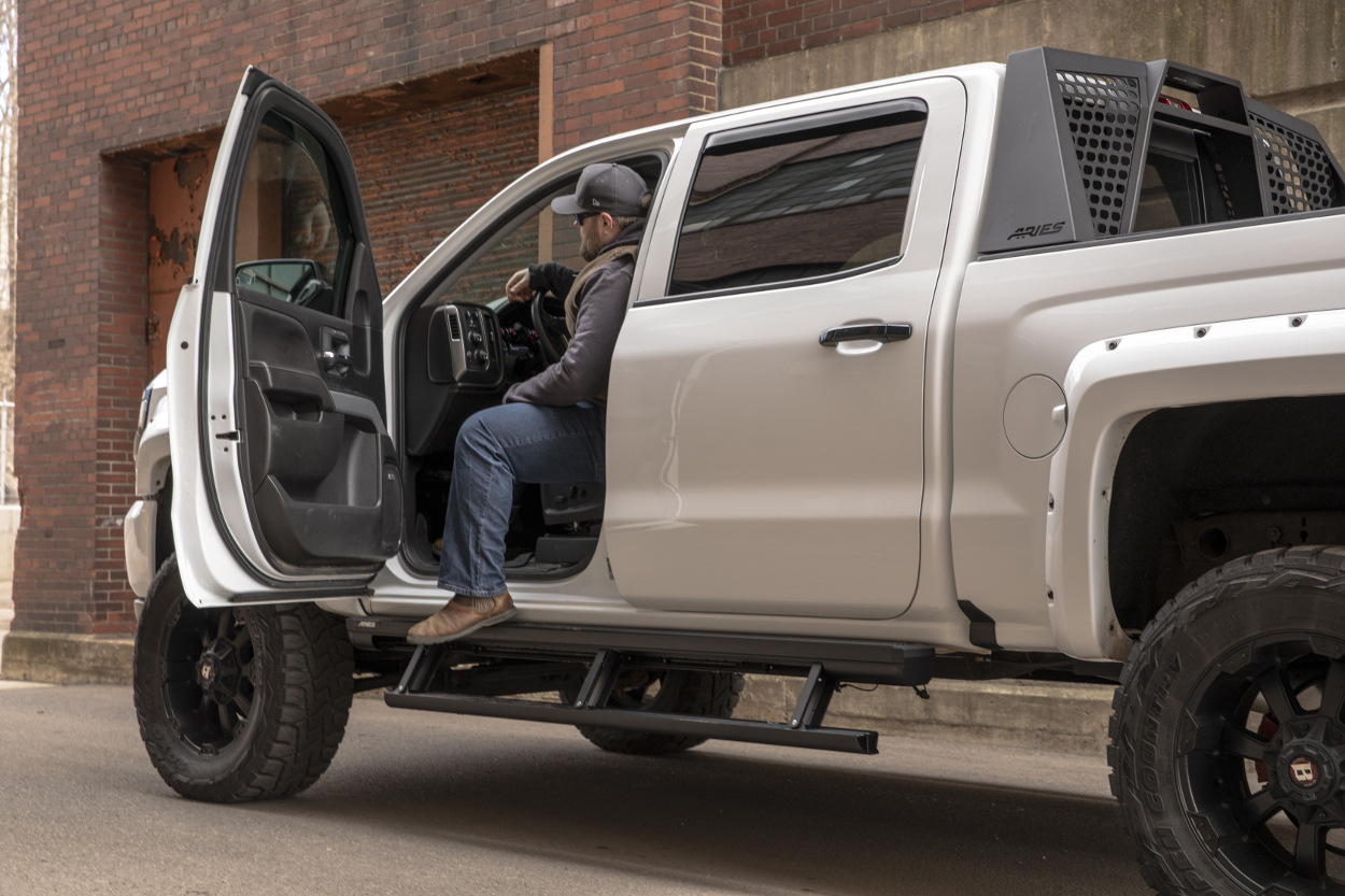 Learn about ActionTrac™ Powered Running Boards from ARIES