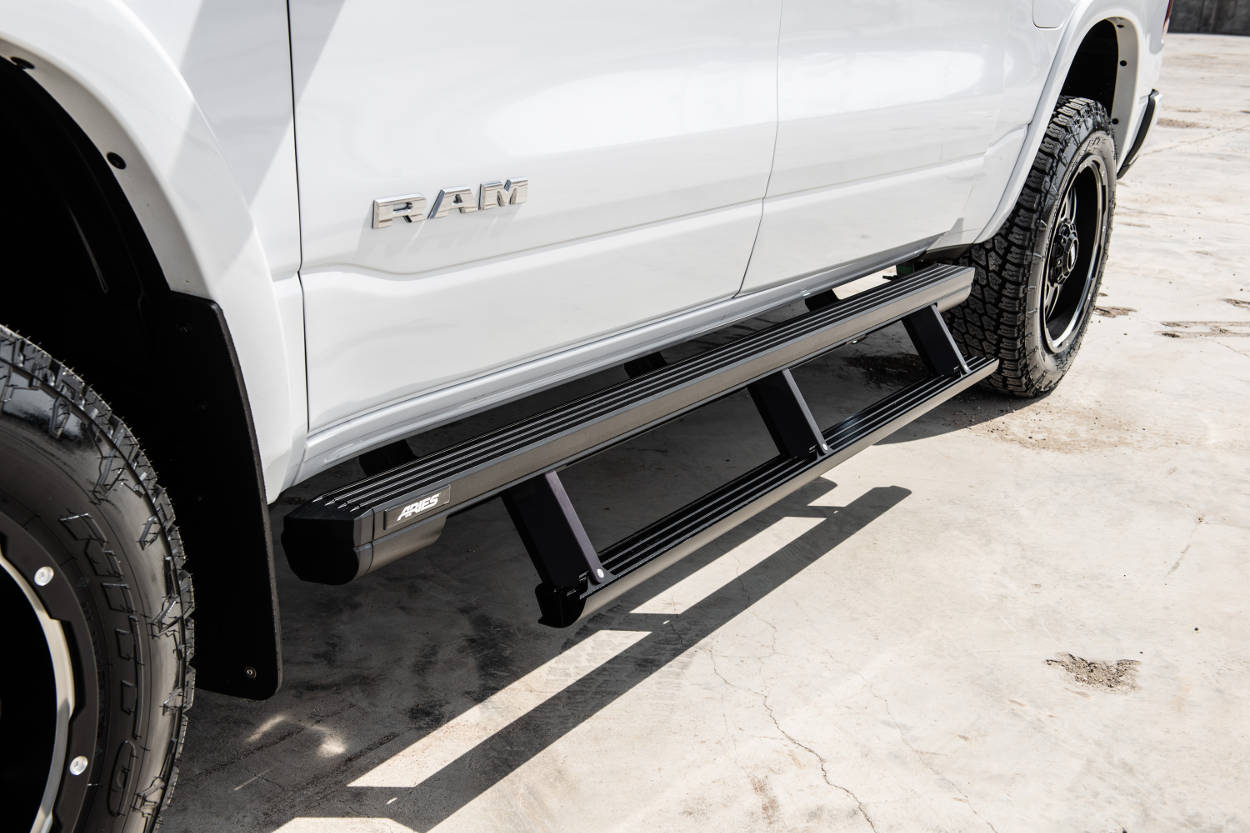 Learn About Actiontrac Powered Running Boards From Aries