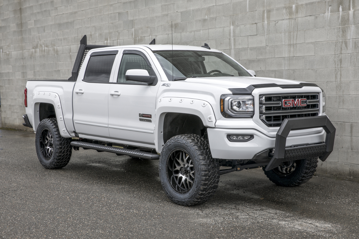 Gmc Sierra Running Boards >> Learn About Advantedge Side Bars From Aries