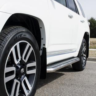 ARIES AeroTread SUV running boards on 2017 Toyota 4Runner