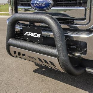 ARIES Big Horn truck bull bar on Ford truck