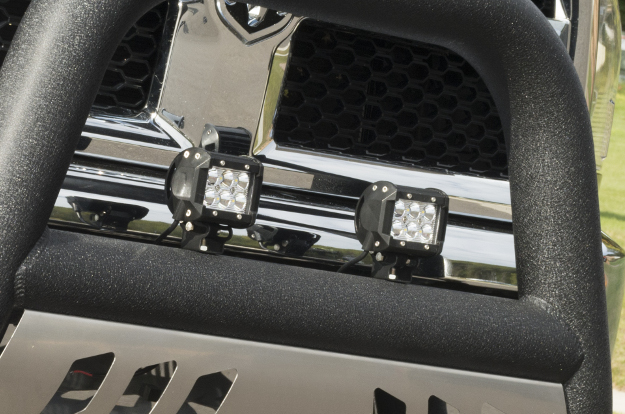 ARIES Big Horn™ truck bull bar with LED lights