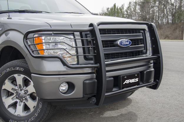 ARIES black grille guard on Ford F150
