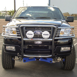 Custom 2004 Ford F150 with ARIES grille guard